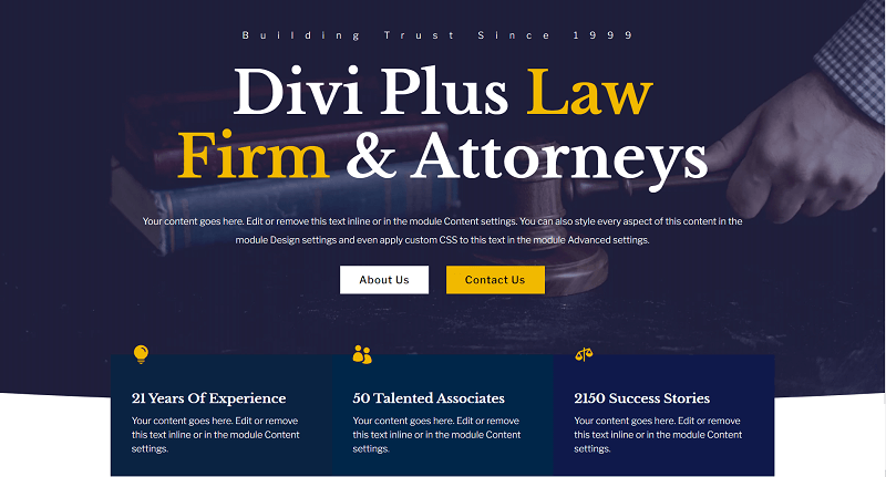 Hero - Law Firm