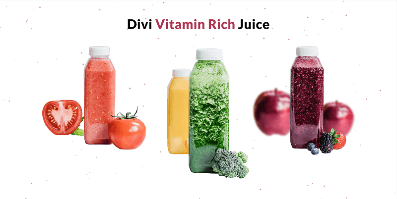 Image - Divi Fresh Juice