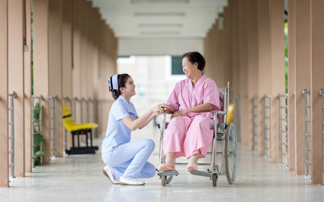Helping a Person with Dementia by Grounding and Orienting Them