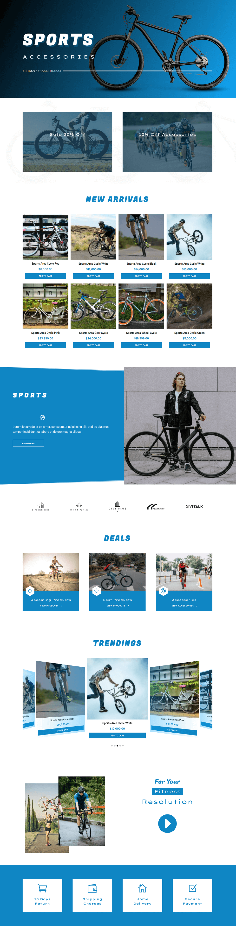 Divi Plus Cycle Store Image