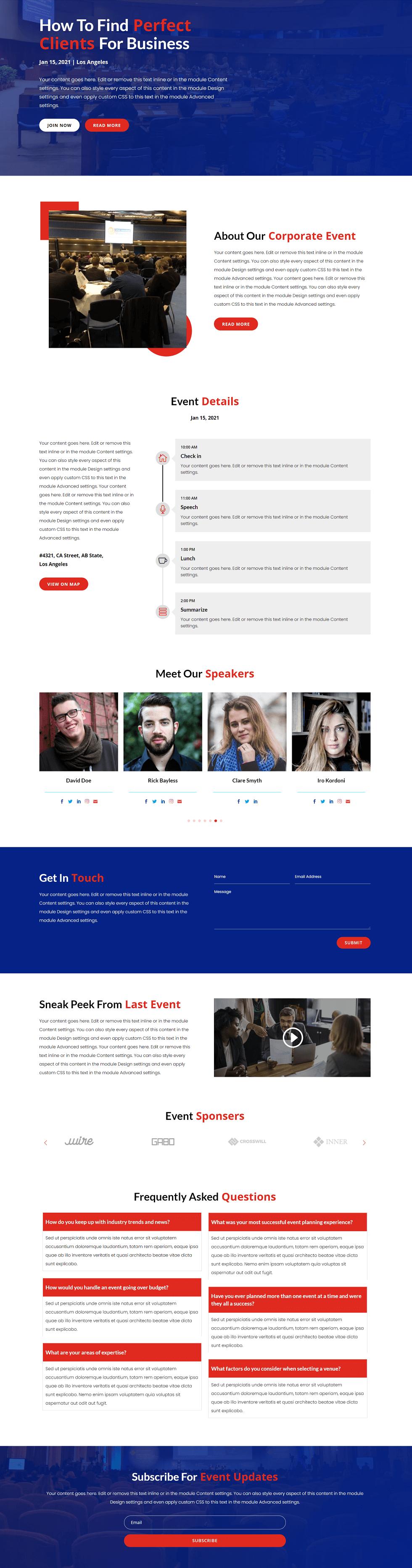 Corporate Event image