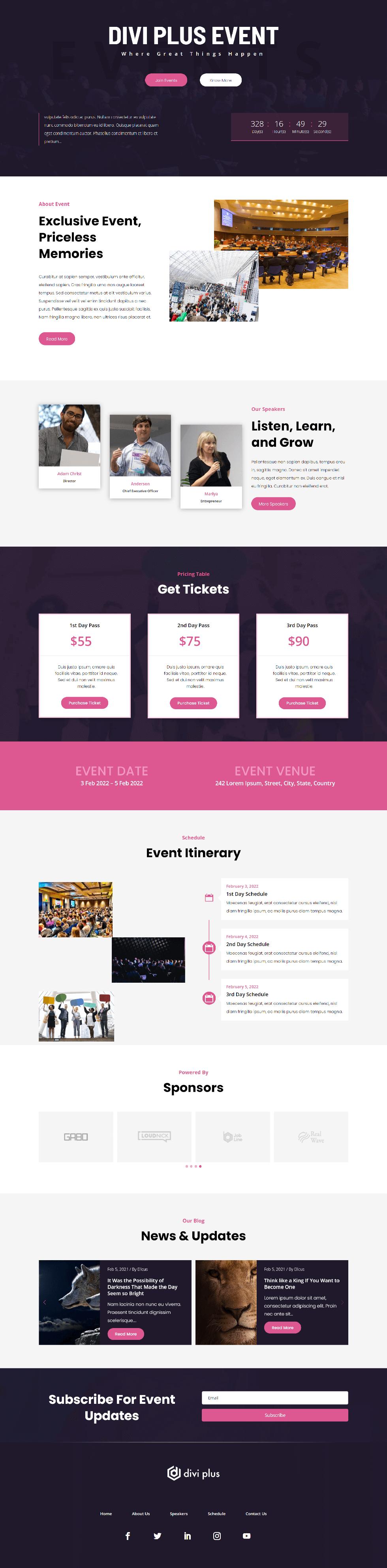 Divi Plus Event 2 Image