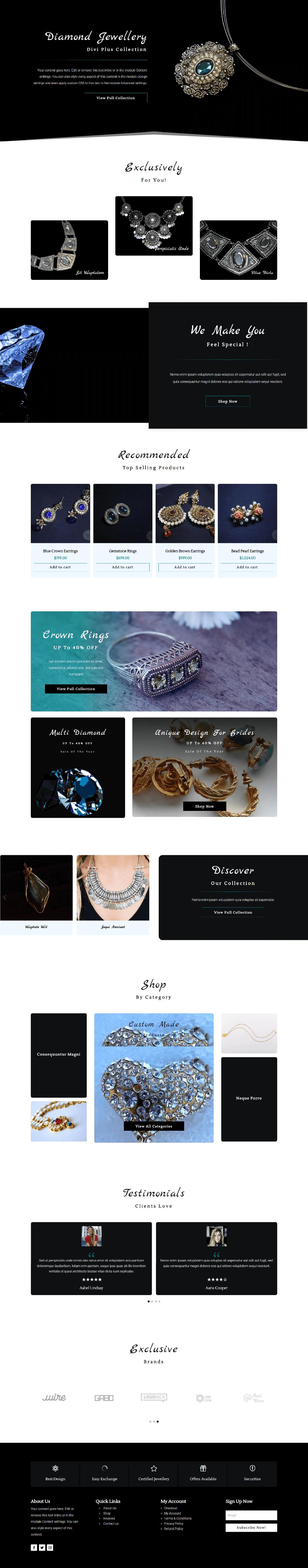 Divi Plus Jewellery Store Image