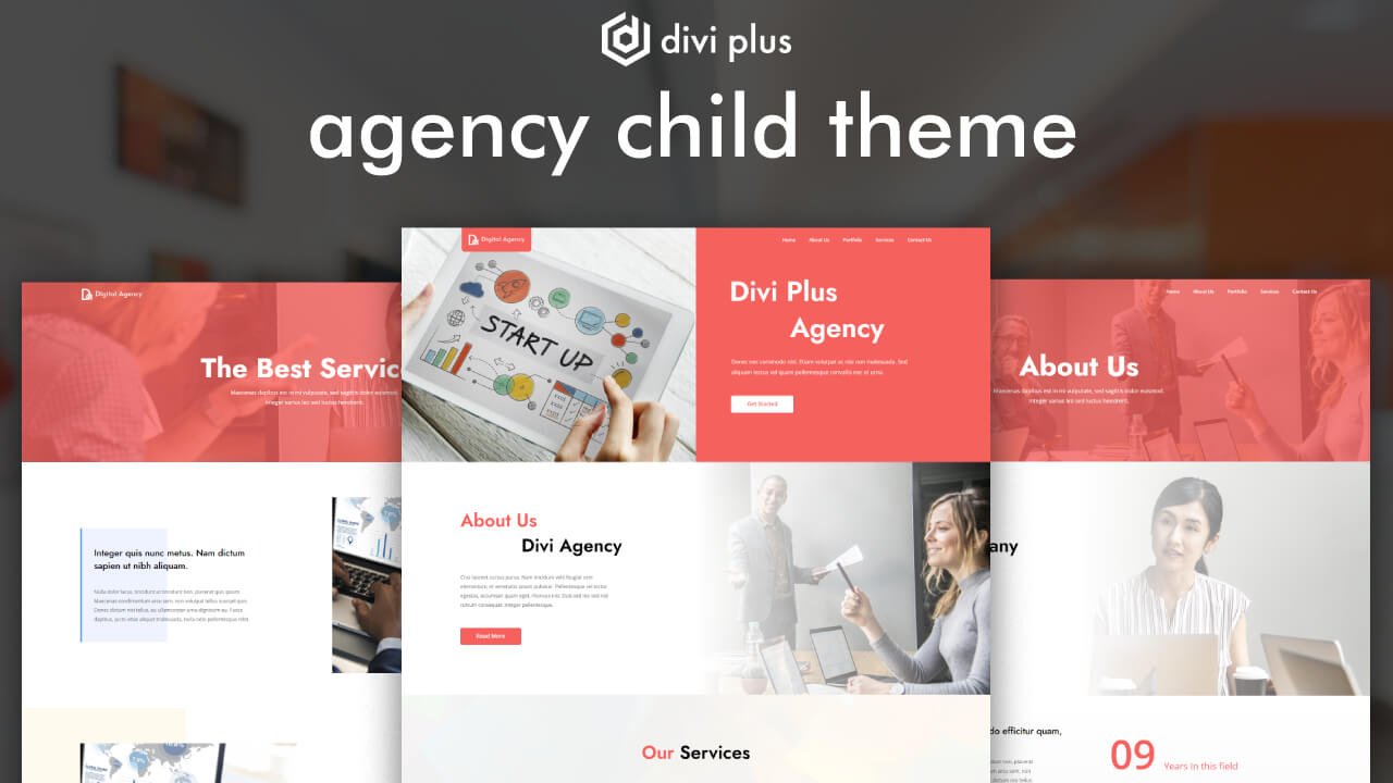 divi marketing agency theme
