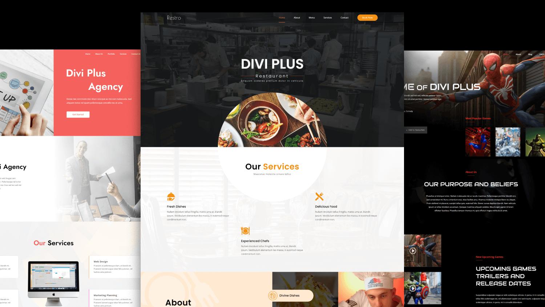 Divi Plus Get Free Themes