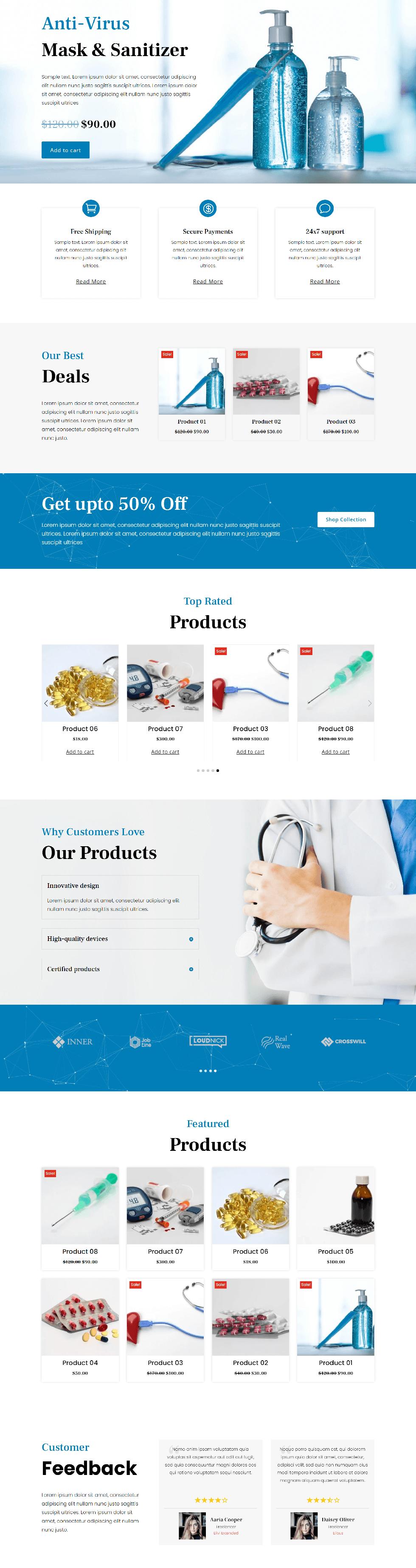 Divi Plus Medical Store Image