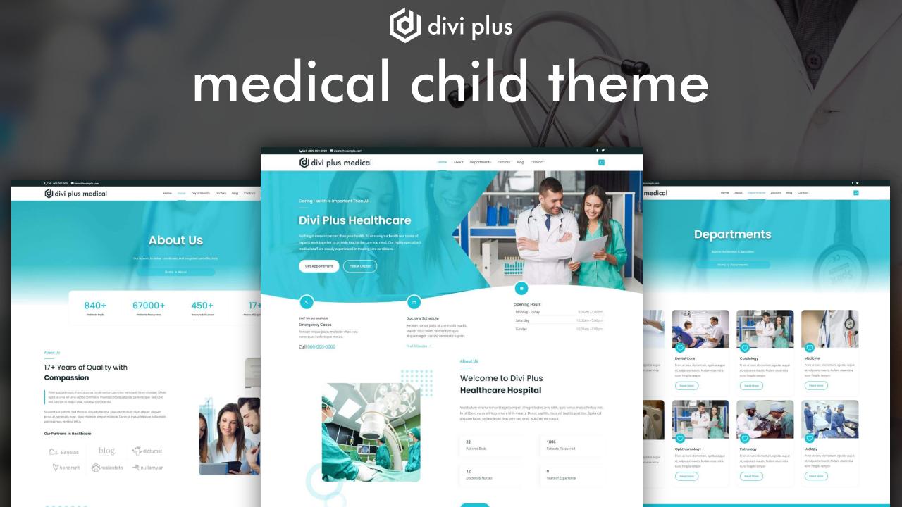 divi medical theme